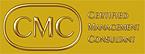CMC-Aufkleber eckig gold